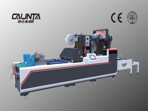 Manufacturer for Low Cost Window Patching Machine - G-1080 Full-automatic High-speed Digital-control Window Patching Machine – Caunta